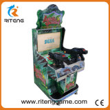 Máquina de jogo a fichas do tiro do simulador da arcada