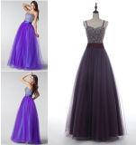 A - линия/платье выпускного вечера Princess Lhbim Пол-Длины Tulle с отбортовывать Sequins