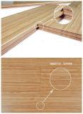 Suelo de bambú sólido vertical carbonizado