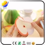 Notas pegajosas de las etiquetas engomadas de las etiquetas engomadas DIY Apple de la pera creativa de la fruta