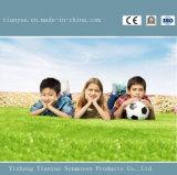 Césped sintetizado ampliamente utilizado del precio barato para el campo de fútbol