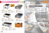Parrilla comercial Takoyaki de la pelotilla de los pescados del gas para la venta al por mayor