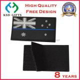 Flarden van pvc van de Vlag van de Douane van de hoogste Kwaliteit de Rubber met Klitband op Achtereind