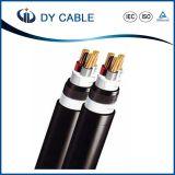XLPE/PVC aisló el cable de transmisión forrado PVC acorazado de la cinta de acero