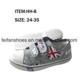 Los zapatos de lona de la inyección de los deportes de los niños venden al por mayor los zapatos del calzado (FFHH-092607)