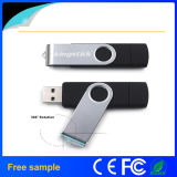 Free Sample 8GB Flash Drive giratório OTG USB
