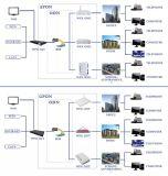 Equipamento de rede VoIP do modem do LAN do router de Gpon/Epom ONU WiFi