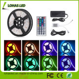 Kit facoltativo impermeabile dell'indicatore luminoso di striscia di DC12V 5m/Roll 300 LED 5050 SMD RGB LED