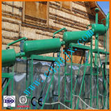 Отходы системы пластиковых шин пиролиз Нефтепереработка