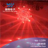 [60و] [لد] متحرّك رئيسيّة حزمة موجية ينظم ضوء 4 في 1 [6بكس] [تين] [إكسين] مصباح مرحلة ضوء