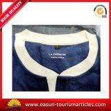 Пижамы гостиницы с логосом голубого клиента $ цвета