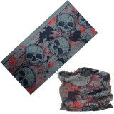 多機能のバイカーのMicrofiberによってカスタマイズされるロゴの印刷の頭骨マスクのバンダナ