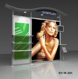 Stand flexible d'affichage du système de salon professionnel avec des étagères de brochures