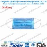 高品質の呼吸のマスクおよび非編まれたEarloopプロシージャマスクQk-FM001