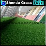 床のための二色および多色刷りの25mmの130stitchプラスチック草