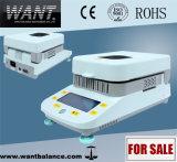 1mg Touch Screen Halogen Heating High Precisioin Moisture Meter