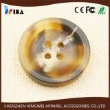Кнопка нашивки смолаы сплошного цвета верхнего сегмента для одежды