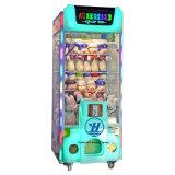 Máquina de juego del juguete de la venta de la grúa de la garra (ZJ-CGM-07)