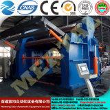 최신! Mclw12xnc-50*3500 큰 유압 CNC 4 대 롤러 격판덮개 구부리거나 회전 기계