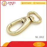 Hight Qualität Hanging Real Gold Tasche Mode Snap Haken / Hund Leine Snap Hook
