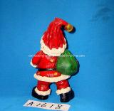 Antieke Hars de Kerstman voor de Decoratie van Kerstmis