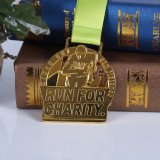 medalla de la corrida de la aduana 3D, medallas promocionales de los deportes