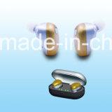 Inearのヘッドセットを取り消す偽りなく無線Bluetooth V4.1のサラウンド・サウンドEarbudsのイヤホーンの騒音