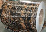 De afgedrukte Rol van het Staal met Marmeren Patroon