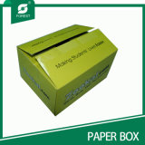 Commercio all'ingrosso ondulato della casella di carta di grande formato su ordinazione