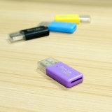 Lector de tarjetas al por mayor de alta velocidad de memoria del USB SD del lector de tarjetas de memoria del OEM