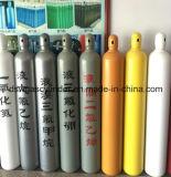 H2, O2, cilindro de gás do aço sem emenda do N2