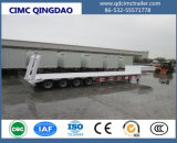 Axle 4 трейлер тележки 100 тонн низкий планшетный Semi