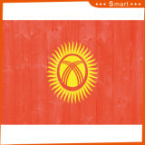 Kundenspezifisch imprägniern und Sunproof Staatsflagge-Kirgistan-Staatsflagge-Modell Nr.: NF-057