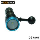 Hoozhu V11のダイビングのビデオ懐中電燈の最大900のLumnesのダイビングランプ