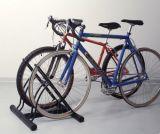 Garagem do organizador do armazenamento de cremalheira da bicicleta do carrinho da bicicleta do assoalho que estaciona interno ao ar livre