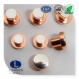 Utilisé pour le rivet électrique solide de contact d'argent de contacteur