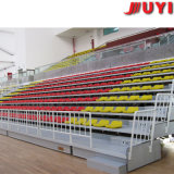 Jy-706 Durable movible Gradas Medio respaldo alto Silla de plástico tribuna de asientos