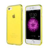 iPhone аргументы за крышки случая мягко гибкое ультра тонкое ясное прозрачное TPU сотового телефона 6 7 4.7 добавочных