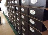 지문 벽에 의하여 숨겨지는 소형 내화성이 있는 안전한 상자