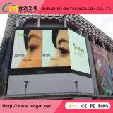 Экран дисплея цифров СИД электроники обслуживания напольный рекламировать передний, P10mm