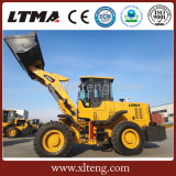 Ltmaの高品質4トンの車輪の前部ローダーの価格