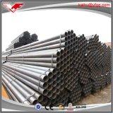 Fábrica negra del tubo de acero de carbón de ASTM A53 Sch40 ERW