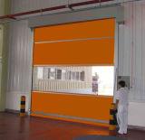 Porta de alta velocidade do obturador de rolamento da tela industrial automática