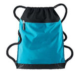 Изготовленный на заказ напечатанный шелком мешок гимнастики полиэфира Drawstring для спортов