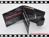 Fabricante de couro Handmade da carteira dos ofícios elevados com bolso do Zipper