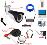 3.0MP Waterproof a mini câmera do CCTV do Wdm Ahd da segurança do tamanho