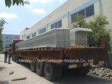 La fibre de verre ondulée de panneau de FRP/toiture transparente en verre de fibre lambrisse W171015