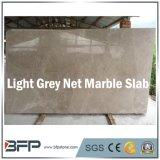 Luz chinesa - laje de mármore líquida cinzenta da cozinha com tamanho personalizado
