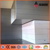 El panel 2017 de pared compuesto de aluminio metálico de Ideabond del nuevo diseño