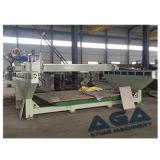 Máquina do cortador da ponte do mármore/granito com a máquina da estaca/Sawing da rotação de 90 tabelas (HQ600D)